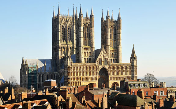 ... against all comers to maintain that the Cathedral of Lincoln is out and  out the most precious piece of architecture in the British Isles